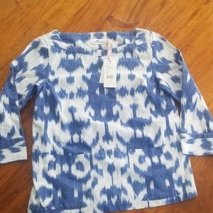 Vineyard Vines women's ikat top